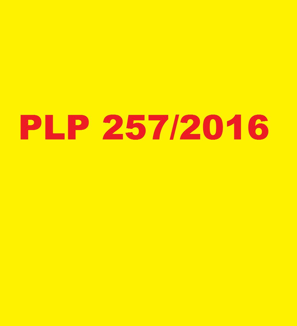 PLP257/2016