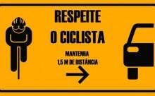 Precisamos respeitar e proteger os ciclistas